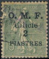 Cilicie 1920 OMF. ~ YT 93 - 2 Pi / 15 C. Semeuse Lignée - Cilicie (1919-1921)