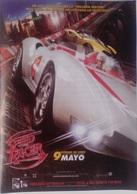 Folleto De Mano. Película Speed Racer. Emile Hirsch. Christina Ricci. Susan Sarandon. John Goodman - Merchandising