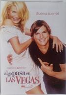 Folleto De Mano. Película Algo Pasa En Las Vegas. Cameron Diaz. Ashton Kutcher. Lake Bell - Merchandising