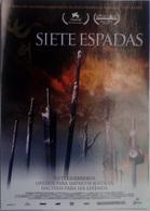 Folleto De Mano. Película Siete Espadas. Lau Kar-Leung. Donnie Yen. Leon Lai. Charlie Young - Cinemania