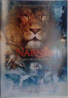 Folleto De Mano. Película Las Crónicas De Narnia. Tilda Swinton. Georgie Henley. Skandar Keynes - Merchandising