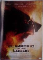 Folleto De Mano. Película El Imperio De Los Lobos. Jean Reno. Arly Jover. Laura Morante - Merchandising