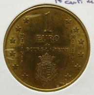 0133 - 1 EURO -  BOURG LA REINE - 1998 - Euros Of The Cities