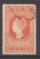 NVPH Nederland Netherlands Pays Bas Niederlande Holanda 101 Used ; Jubileumzegel 1913 VERY FINE - Periode 1891-1948 (Wilhelmina)