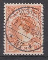 NVPH Nederland Netherlands Pays Bas Niederlande Holanda 80 TOP CANCEL ROTTERDAM ; Wilhelmina 1899 VERY FINE - Periode 1891-1948 (Wilhelmina)