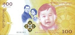 BHUTAN P. NEW 100 N 2016 UNC - Bhoutan