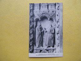 CHARTRES. La Cathédrale. Le Portail Nord. La Désobéissance. - Chartres