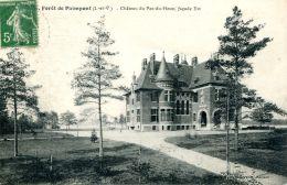 N°62921 -cpa Forêt De Paimpont -château Du Pas Du Houx- - Paimpont