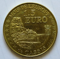 0156 - 1,5 EURO - CASSIS - 1997 - Euros De Las Ciudades