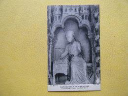 CHARTRES. La Cathédrale. Le Portail Sud. L'Avarice. - Chartres