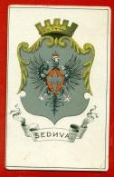 LITHUANIA Coat Of Arms VINTAGE POSTCARD 139 - Litauen