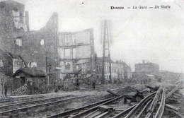 FLANDRE ORIENTALE - DEINZE - DE STATIE - La Gare Détruite - Deinze