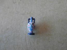 Feve Emaux De Longwy: Vase Gourde 1885 - Fèves