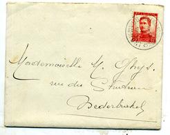 Belgique COB 123 Sur Lettre De Geraardsbergen Pour Nederbrakel  1914 - 1912 Pellens