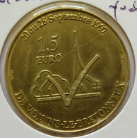 0167 - 1,5 EURO - VOISINS LE BRETONNEUX - 1997 - Euros Of The Cities