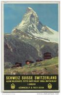 Schweiz - Kleine Reliefkarte 1:600 000 Schweiz - Kümmerly & Frey Bern - Maps Of The World