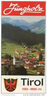 Jungholz - Faltblatt Mit 10 Abbildungen - Wohnungsliste 1973 - Oesterreich