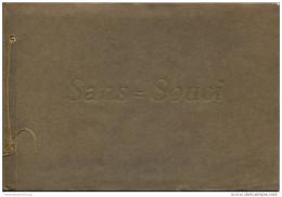 Potsdam Ca. 1910 - Sans-Souci - Sanssouci 10 Einzelne Bilder 13cm X 20cm - U. A. Haupteingang - Schloss - Voltaire-Zimme - Brandenburg