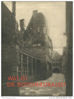 Bremen - Böttcherstrasse - Faltblatt Mit 8 Abbildungen - Bremen