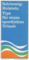 Schleswig-Holstein - Faltblatt 1967 Mit 12 Abbildungen - Schleswig-Holstein