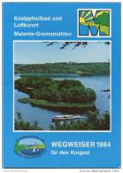 Malente-Gremsmühlen - Wegweiser Für Den Kurgast 1984 - 112 Seiten Mit Vielen Abbildungen - Schleswig-Holstein