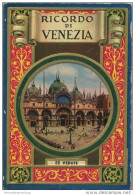 Italien - Ricordo Di Venezia - 32 Vedute - Leporello 17cm X 11cm 32 Fotografien Rückseitig Mit Text Und Einem Stadtplan - Italia
