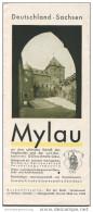 Mylau 1932 - 8 Seiten Mit 13 Abbildungen - Saxe