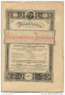 Illustriertes Briefmarken Journal - XXI Jahrgang Nr. 12 - Juni 1894 - Verlag Gebrüder Senf Leipzig - Deutsch (bis 1940)