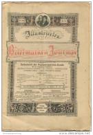 Illustriertes Briefmarken Journal - XXI Jahrgang Nr. 14 - Juli 1894 - Verlag Gebrüder Senf Leipzig - Deutsch (bis 1940)