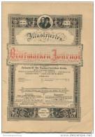 Illustriertes Briefmarken Journal - XXIII Jahrgang Nr. 14 - Juli 1896 - Verlag Gebrüder Senf Leipzig - Deutsch (bis 1940)