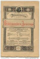 Illustriertes Briefmarken Journal - XXIII Jahrgang Nr. 16 - August 1896 - Verlag Gebrüder Senf Leipzig - Deutsch (bis 1940)