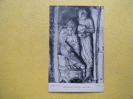 CHARTRES. La Cathédrale. Le Portail Nord. Tobie Aveugle. - Chartres