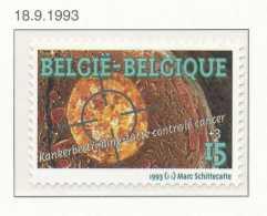 D- [153388] **/Mnh-[2525] Belgique 1993, Lutte Contre Le Cancer, Santé, SNC - Médecine