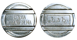 02138 GETTONE TOKEN ADVERTISING ARCADE MACHINE B & B MILANO MARITTIMA CERVIA ROMAGNA - Unclassified
