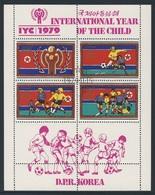 Korea North 1979 Mi 1933 /5 - Cancelled To Order - Footballers - Int. Year Of The Child / Int. Jahr Des Kindes - Korea (Noord)