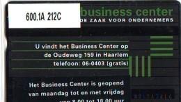 Telefoonkaart  LANDIS&GYR NEDERLAND * RCZ.600.1a  212c * Business Center Haarlem * TK * ONGEBRUIKT * MINT - Nederland