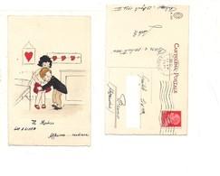 $3-5721  Illustratori Bambini Acquarello A Mano Medico 1934 - Disegni Infantili