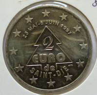 0191 - 2 EURO - SAINT DIE - 1997 - Euros Of The Cities
