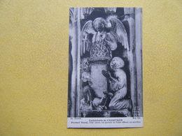 CHARTRES. La Cathédrale. Le Portail Nord. Les Parents De Tobie Offrent Un Sacrifice. - Chartres