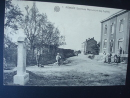 Romsée : Soxhluse - Monument Des Fusillés En 1928 - Fléron