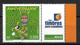 France 2003 N° 3569A Neuf** Avec Vignette Cote 5 Euros - Personalisiert