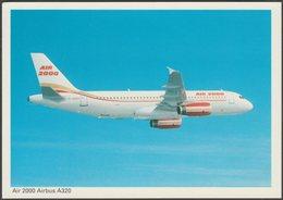 Air 2000 Airbus A320 - ETW Dennis Postcard - 1946-....: Modern Era