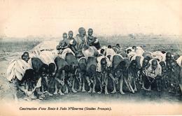 CONSTRUCTION D'UNE ROUTE A FADA N'GOURMA - SOUDAN FRANCAIS - Mauritanie