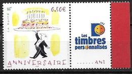 France 2004 N° 3688A Neuf** Avec Vignette Cote 5 Euros - Personalisiert