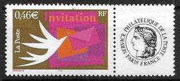 France 2002 N° 3479A Neuf** Avec Vignette Cote 5 Euros - Frankreich