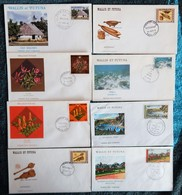 8 ENVELOPPES 1ER JOUR WALLIS ET FUTUNA ANNEES 1975/1983 - Covers & Documents