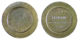 02706 GETTONE JETON TOKEN ARCADE FLIPPERS SALA GIOCO BERNARDI RIMINI - Unclassified
