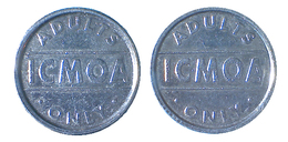 00181 GETTONE JETON TOKEN IRELAND CIGARETTES MACHINE TOKEN ICMOA - Tokens & Medals