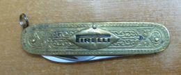 AC - PIRELLI VINTAGE POCKET KNIFE & BOTTLE OPENER #2 FROM TURKEY - Tools