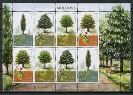 Moldova 2018 Moldavia / Trees MNH Árboles Bäume Arbres / Cu8408  1 - Árboles